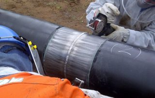 Pipeline field joint preparation